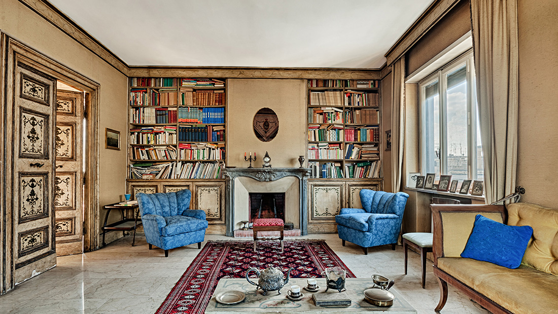 Federico Fellini's Rome Penthouse