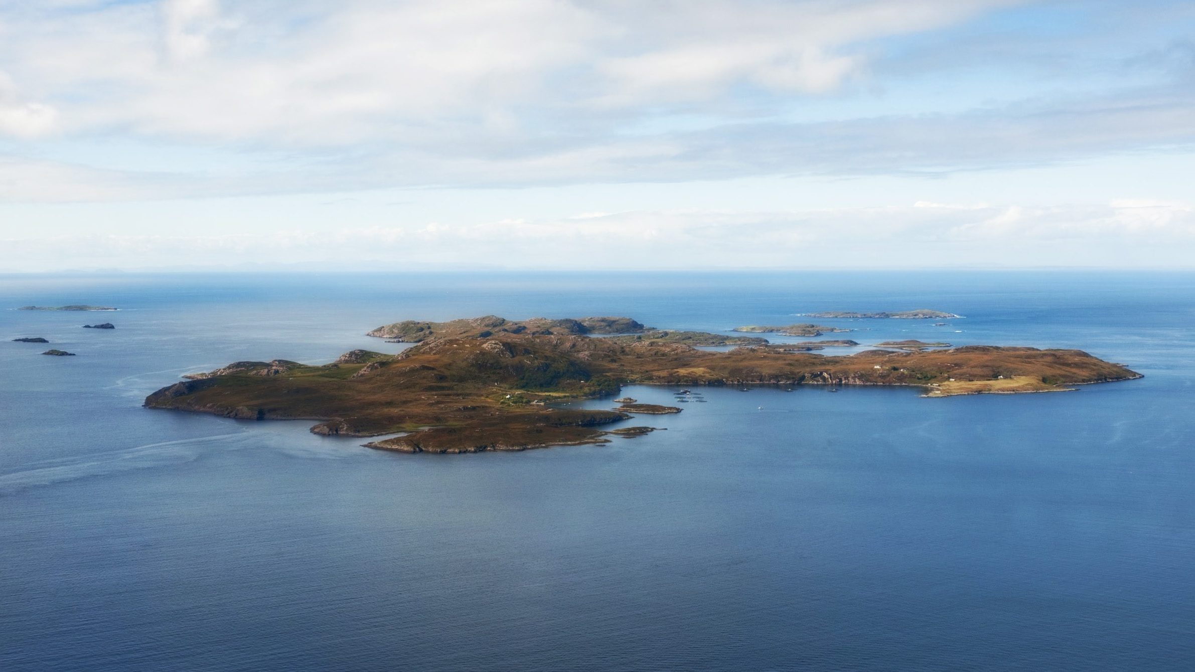 Tanera Mor island in Scotland